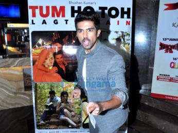 Taapsee Pannu & Saqib Saleem at the launch of single 'Tum Ho Toh'