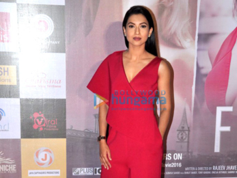 Rajeev Khandelwal & Gauahar Khan at the trailer launch of 'Fever'