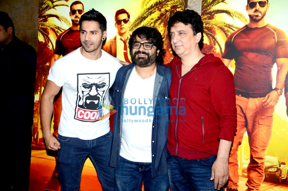 Varun Dhawan unveils 'Sau Tarah Ke' song from 'Dishoom'