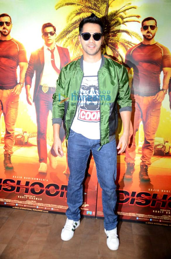 Varun Dhawan unveils 'Sau Tarah Ke' song from 'Dishoom'