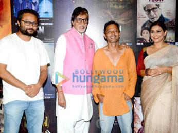 Ribhu Dasgupta, Amitabh Bachchan, Sujoy Ghosh, Vidya Balan