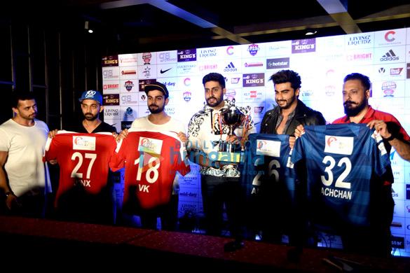 Ajinkya Rahane, Virat Kohli, Abhishek Bachchan, Arjun Kapoor, Bunty Walia