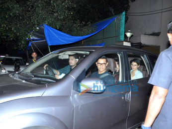 Aamir Khan watches 'Sultan' with Junaid, Ira and Dangal girls