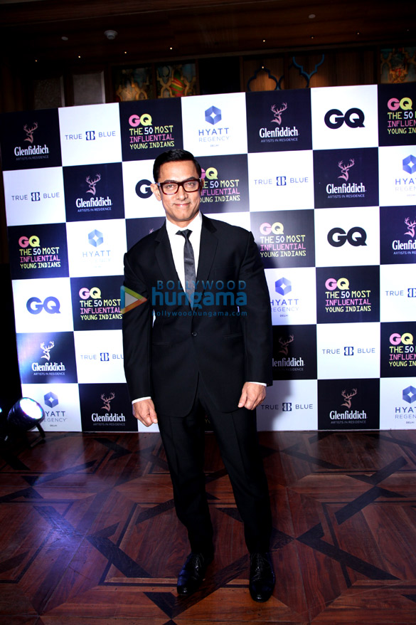 Aamir Khan graces 'GQ The 50 Most Influential Young Indians 2016'