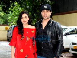 Adhyayan Suman & Sara Loren snapped at 'Ishq Click' promotions
