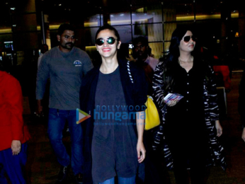 Alia Bhatt, Imtiaz Ali & Bobby Deol snapped at the interntional airport