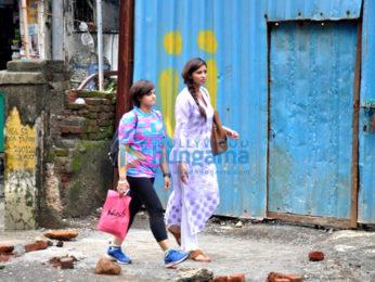 Daisy Shah snapped in Bandra