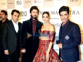 Deepika Padukone & Fawad Khan walk the ramp for Manish Malhotra