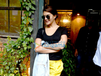 Jacqueline Fernandez snapped post 'Dishoom' promotions