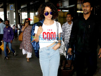 Kangna Ranaut returns from Chandigarh