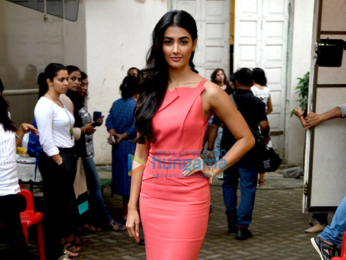 Pooja Hegde snapped promoting 'Mohenjo Daro'