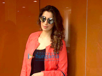 Raai Laxmi snapped at the airport leaving to attend the SIIMA Awards Singapore