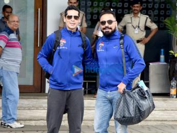 Ranbir Kapoor, Kartik Aaryan & others depart for All Stars Football match in Delhi