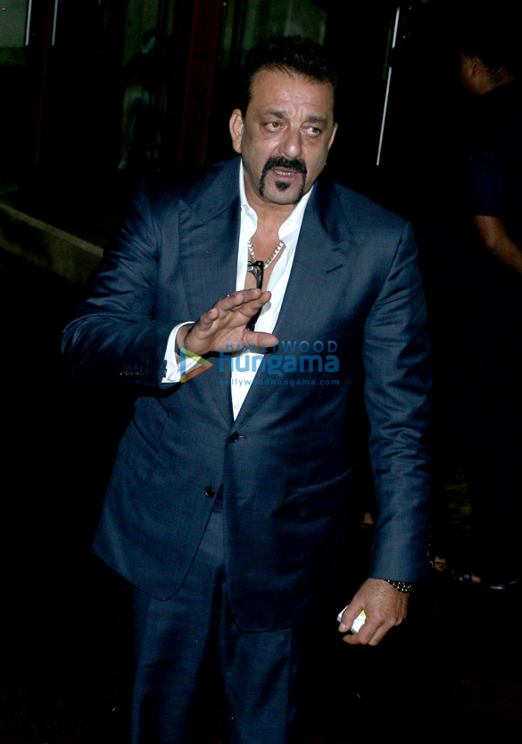 Sanjay Dutt snapped post birthday ring in at his home in Bandra