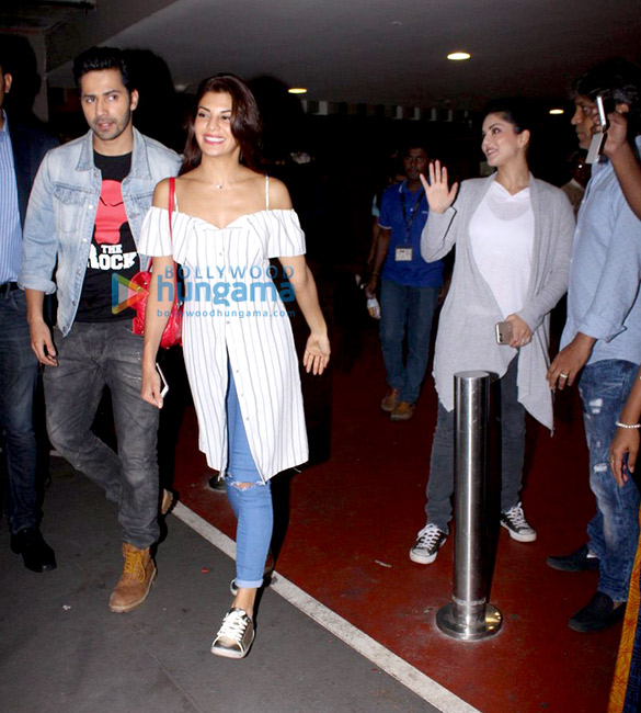 Sunny Leone, Jacqueline Fernandez, Varun Dhawan & others snapped at the airport