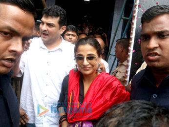 Vidya Balan & Siddharth Roy Kapur watch 'Kabali'