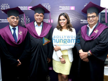 Vinod Khanna graces 9th annual convocation ceremony of Whistling Woods International