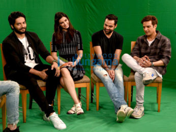 Abhay Deol, Diana Penty, Jimmy Shergill & Ali Fazal promote 'Happy Bhaag Jayegi'