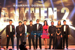 Amitabh Bachchan & Arshad Warsi grace the launch of 'Aankhen 2'