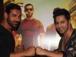 Varun Dhawan, John Abraham, Raftaar At 'Dishoom' Fan Interaction Event
