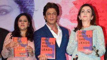Shah Rukh Khan At 'She Walks, She Leads' Book Launch