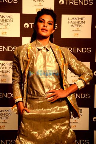 Celebs at Lakme Fashion Week 2016 - Day 3