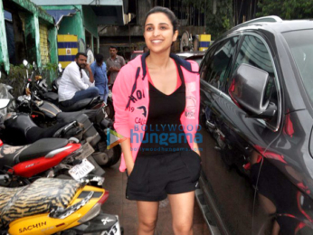 Parineeti Chopra snapped post Dream Team concert rehearsals