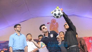 Ranbir Kapoor celebrates Gokul Ashtami the football way with Mumbai City Football Club