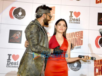 Ranveer Singh, Tamannaah Bhatia & Rohit Shetty unveil Ching's new TVC campaign