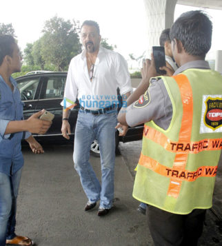 Sanjay Dutt, Malaika Arora Khan, Tamannaah Bhatia & Neha Dhupia snapped at the airport