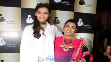 Sonam Kapoor graces 'Cuddles Foundation' fundraiser