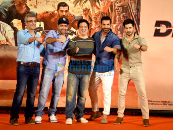Success meet of 'Dishoom' with cast and crew