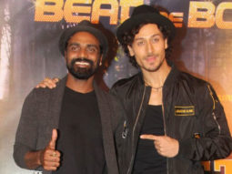 Tiger Shroff, Remo D'souza At The Song Launch Beat Pe Booty From A Flying Jatt