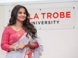 Vidya Balan's Speech At La Trobe University