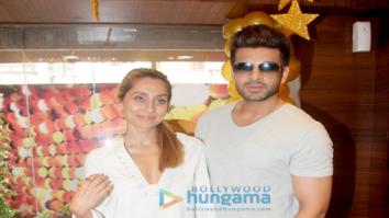 Anusha Dandekar & Karan Kundra shoot for 'MTV Love School 2'