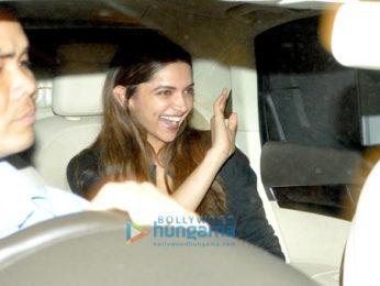 Deepika Padukone snapped post her meeting with Sanjay Leela Bhansali