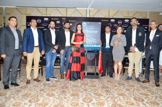 Divya Khosla Kumar graces the media meet of Tech Fashion Tour