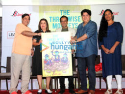 Farah Khan, Sajid Khan & David Dhawan at 'The Three Wise Monkeys' book launch