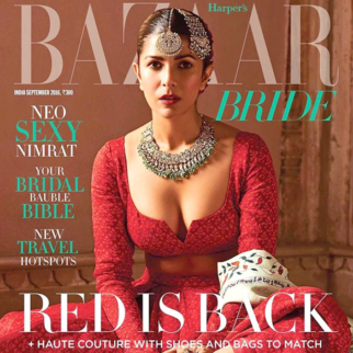 Nimrat Kaur On The Cover Of Harper's Bazaar