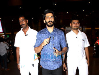 Harshvardhan Kapoor, Saiyami Kher, Sonu Sood & Dia Mirza snapped at the airport