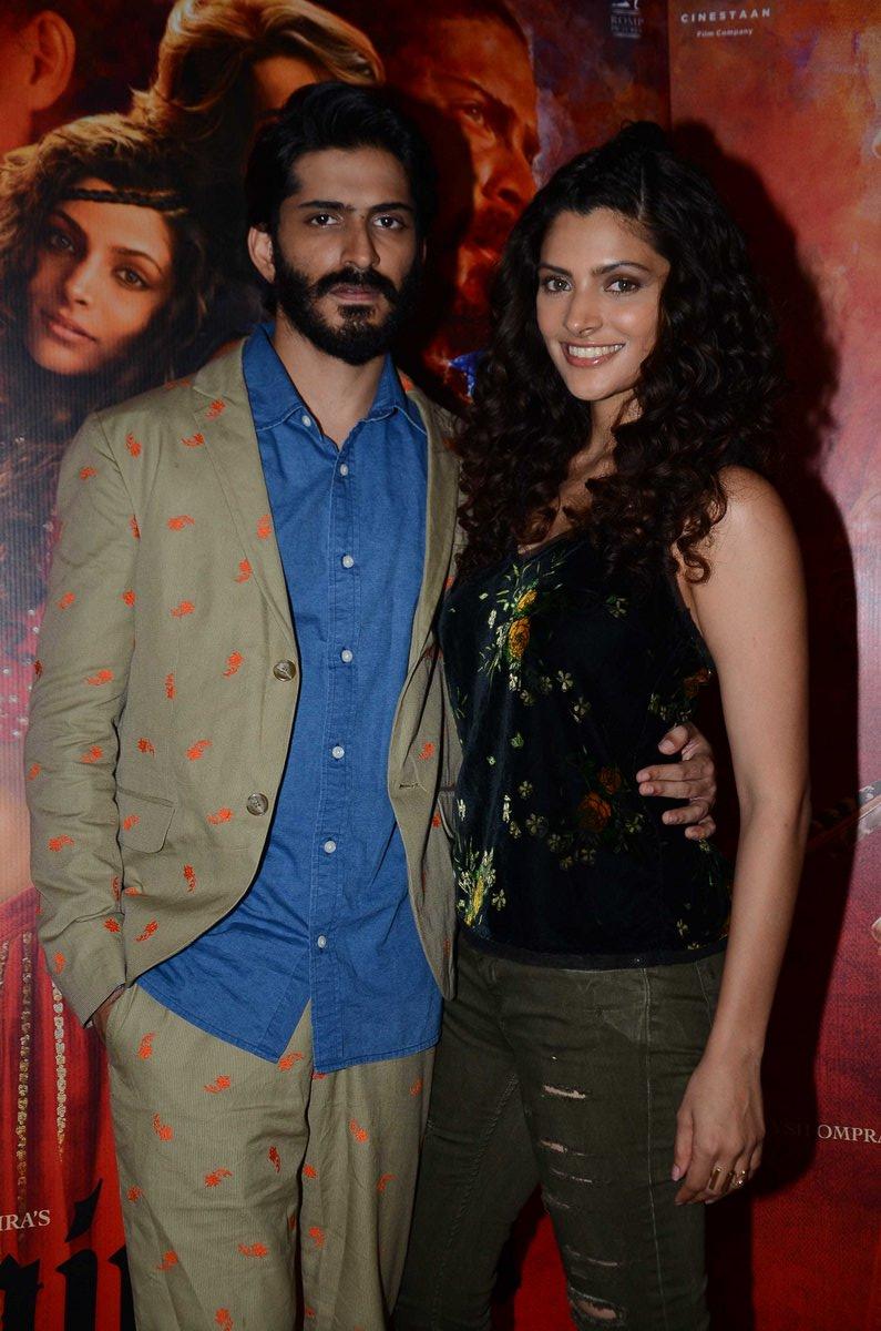 Harshvardhan Kapoor & Saiyami Kher snapped at 'Mirzya' promotions-10