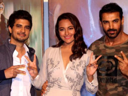 John Abraham, Sonakshi Sinha At The Trailer Launch Of 'Force 2'