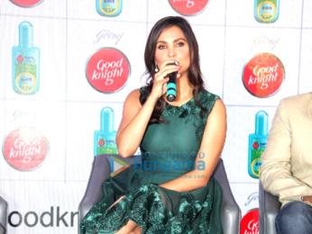 Lara Dutta & Mahesh Bhupathi launch Good Knight's home repellent Fabric Roll-On