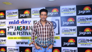 Manoj Bajpayee at the master class of 7th Jagran Film Festival