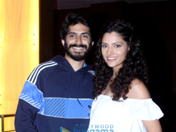 Media meet of 'Mirzya' with Harshvardhan Kapoor & Saiyami Kher