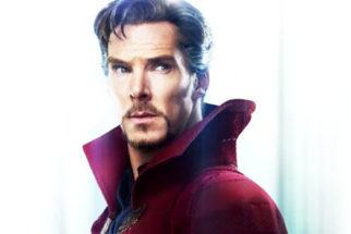 Motion Poster Of Doctor Strange Ft. Benedict Cumberbatch
