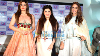Neha Dhupia, Zareen Khan & Archana Kocchar at The Winter Affair announcement