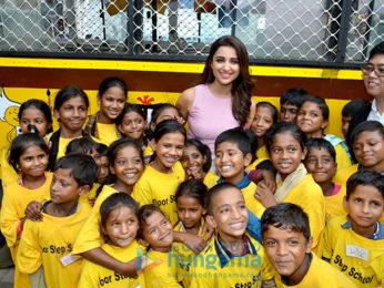 Parineeti Chopra inaugurates a school on wheels