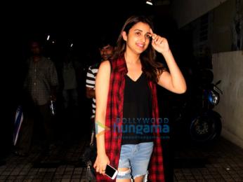 Parineeti Chopra snapped post 'Sully' screening