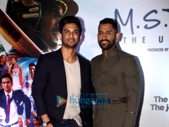 Sushant Singh Rajput, Mahendra Singh Dhoni & the rest of cast grace the premiere of 'M.S. Dhoni – The Untold Story'